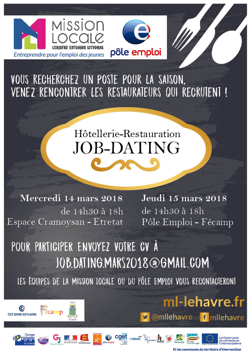 job dating hotellerie restauration